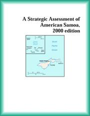 Cover of: A Strategic Assessment of American Samoa, 2000 edition (Strategic Planning Series)