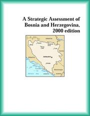 Cover of: A Strategic Assessment of Bosnia and Herzegovina, 2000 edition (Strategic Planning Series)