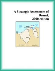 Cover of: A Strategic Assessment of Brunei, 2000 edition (Strategic Planning Series)