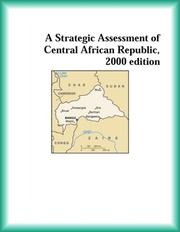 Cover of: A Strategic Assessment of Central African Republic, 2000 edition (Strategic Planning Series)
