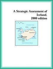 Cover of: A Strategic Assessment of Iceland, 2000 edition (Strategic Planning Series)