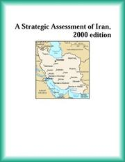 Cover of: A Strategic Assessment of Iran, 2000 edition (Strategic Planning Series)