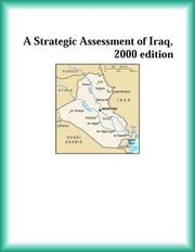 Cover of: A Strategic Assessment of Iraq, 2000 edition (Strategic Planning Series)