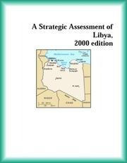 Cover of: A Strategic Assessment of Libya, 2000 edition (Strategic Planning Series)