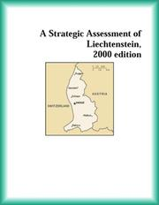 Cover of: A Strategic Assessment of Liechtenstein, 2000 edition (Strategic Planning Series)
