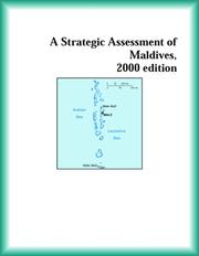 Cover of: A Strategic Assessment of Maldives, 2000 edition (Strategic Planning Series)