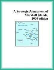 Cover of: A Strategic Assessment of Marshall Islands, 2000 edition (Strategic Planning Series)