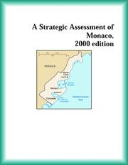 Cover of: A Strategic Assessment of Monaco, 2000 edition (Strategic Planning Series)