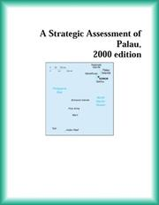 Cover of: A Strategic Assessment of Palau, 2000 edition (Strategic Planning Series)
