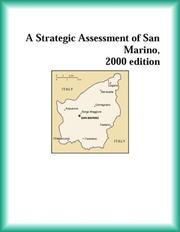 Cover of: A Strategic Assessment of San Marino, 2000 edition (Strategic Planning Series)