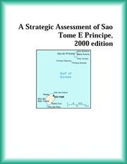 Cover of: A Strategic Assessment of Sao Tome E Principe, 2000 edition (Strategic Planning Series)