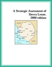 Cover of: A Strategic Assessment of Sierra Leone, 2000 edition (Strategic Planning Series)