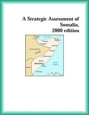Cover of: A Strategic Assessment of Somalia, 2000 edition (Strategic Planning Series)