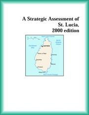 Cover of: A Strategic Assessment of  St. Lucia, 2000 edition (Strategic Planning Series)