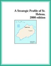 Cover of: A Strategic Profile of St. Helena, 2000 edition (Strategic Planning Series)