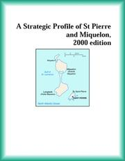 Cover of: A Strategic Profile of St Pierre and Miquelon, 2000 edition (Strategic Planning Series)