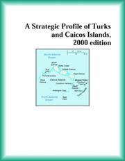 Cover of: A Strategic Profile of Turks and Caicos Islands, 2000 edition (Strategic Planning Series)