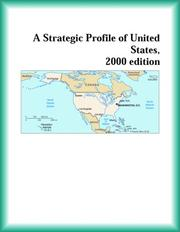 Cover of: A Strategic Profile of United States, 2000 edition (Strategic Planning Series)