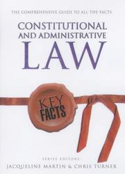 Cover of: Constitutional and Administrative Law (Key Facts)