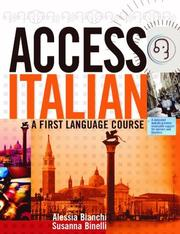 Cover of: Access Italian (Access Languages)