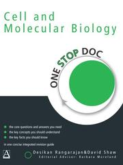 Cover of: Cell and Molecular Biology (One Stop Doc)