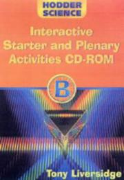 Cover of: Interactive Starter and Plenary Activity Cd-rom B (Hodder Science)