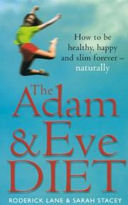 Cover of: The Adam and Eve Diet