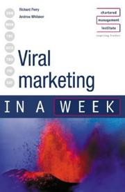 Cover of: Viral Marketing in a Week (In a Week)
