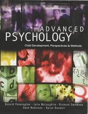 Cover of: Advanced Psychology
