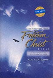 Cover of: NIV Freedom in Christ Bible