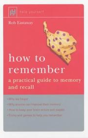 Cover of: How to Remember