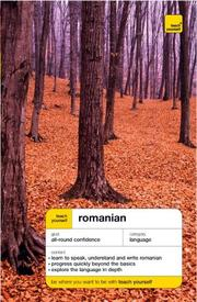 Cover of: Teach Yourself Romanian (Teach Yourself Complete Courses)