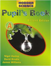 Cover of: Hodder Science. Pupil Book a (Hodder Science)