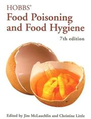 Cover of: Hobbs' Food Poisoning and Food Hygiene