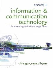 Cover of: Information & Communication Technology for Edexcel Applied As