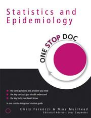 Cover of: One Stop Doc Statistics and Epidemiology (One Stop Doc; a Hodder Arnold Publication)