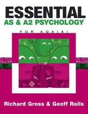 Cover of: Essential As & A2 Psychology for Aqa a