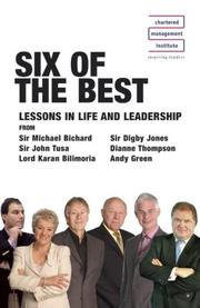 Cover of: Six of the Best (Briefcase Masterclass)