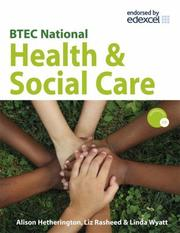 Cover of: BTEC National Health and Social Care