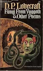 Cover of: Fungi from Yuggoth and other poems