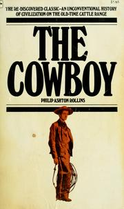 Cover of: The cowboys;