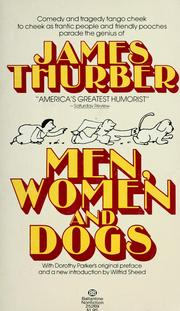 Cover of: Men, women, and dogs: a book of drawings.