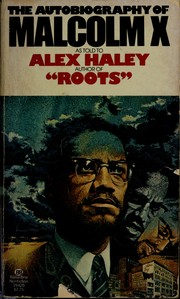 Cover of: Autobiography of Malcolm X