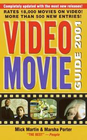 Cover of: Video Movie Guide 2001