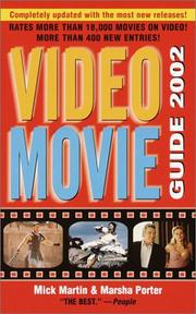 Cover of: Video Movie Guide 2002