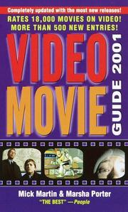 Cover of: Video Movie Guide 2001 (NULL)