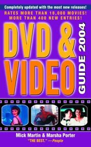 Cover of: DVD & Video Guide 2004 (Video and DVD Guide)