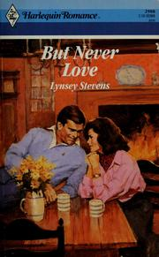 Cover of: But Never Love