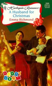 Cover of: A Husband For Christmas (Daddy Boom) (Harlequin Romance, 3580)