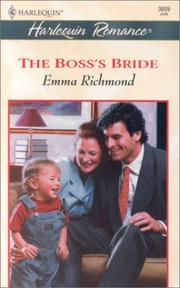 Cover of: Boss's Bride (Marrying The Boss) (Harlequin Romance, 3609)